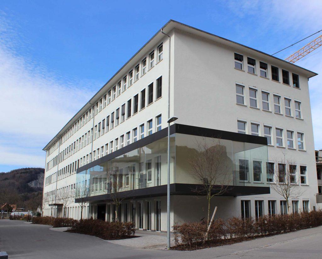 Wirtschaftspark Vorarlberg, eks informatik gmbh, Aussenansicht